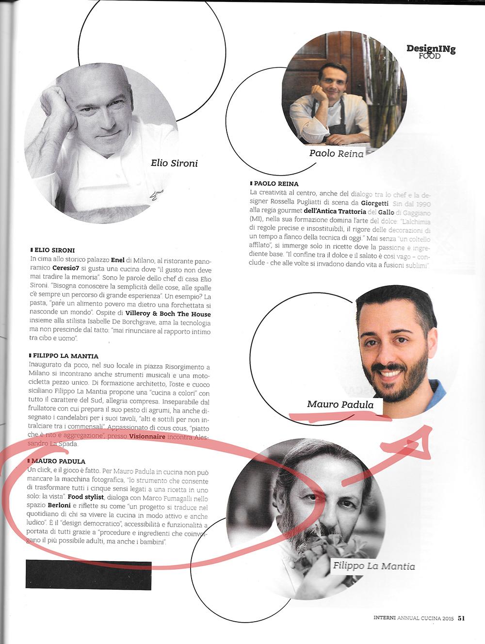 Annual Cucina 2015 - Allegato di Interni n° 6 Giugno 2015