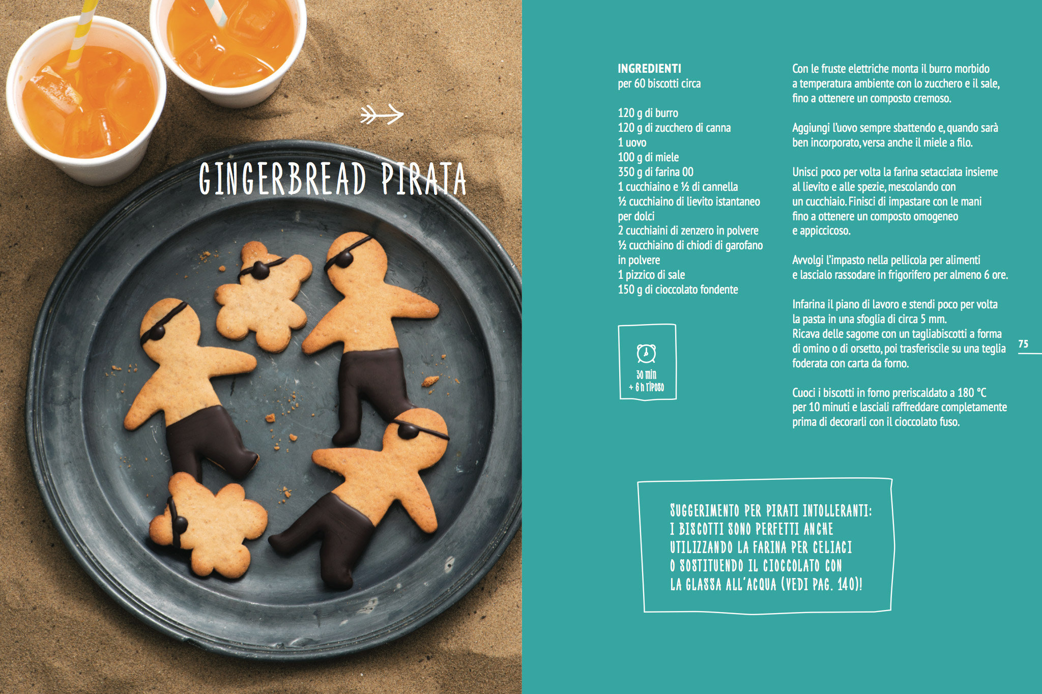 Gingerbread pirata
