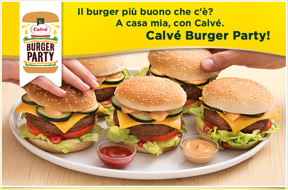 Calvé Burger Party